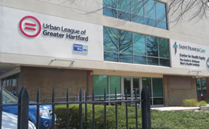 Urbal League of Greater Hartford Building exterior.